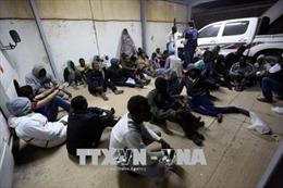 Hàng chục người di cư được cứu ngoài khơi bờ biển Tây Libya