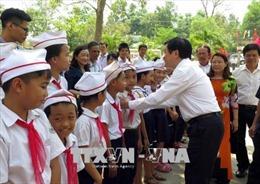 Xây dựng hệ thống lọc nước uống đạt chuẩn cho hai trường học ở Quảng Nam