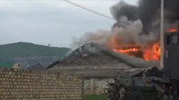 Xem đặc nhiệm Nga dùng robot súng máy tiêu diệt 9 phiến quân
