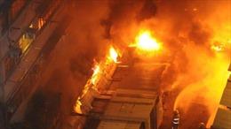 Cháy quán karaoke ở Trung Quốc, 18 người chết