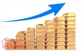 Giá vàng khởi sắc trên thị trường châu Á