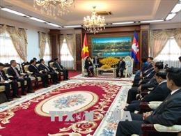 Lãnh đạo cấp cao Campuchia đánh giá cao quan hệ hợp tác với Việt Nam