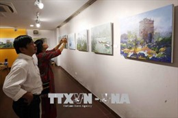 Khai mạc triển lãm mỹ thuật 'Kết nối Hải Vân Quan'