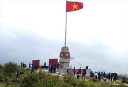 Khánh thành cột cờ Tổ quốc trên đảo Hòn La, Quảng Bình