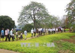 Quần thể Di tích chiến trường Điện Biên Phủ 'hút' khách dịp nghỉ lễ
