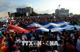 Người dân Cuba cam kết trung thành với Cách mạng và thế hệ lãnh đạo mới