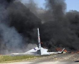 Toàn bộ 9 người thiệt mạng trong vụ rơi máy bay quân sự ở Mỹ