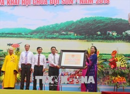 Chùa Đọi Sơn, Hà Nam được công nhận là Di tích quốc gia đặc biệt