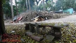 Xả rác, nuôi gà giữa khu vui chơi ở Hà Nội