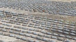 Phát hiện kho vũ khí khổng lồ do NATO sản xuất tại 'điểm nóng' Đông Ghouta, Syria