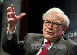Tỷ phú Warren Buffet đẩy giá cổ phiếu của Apple lên cao kỷ lục