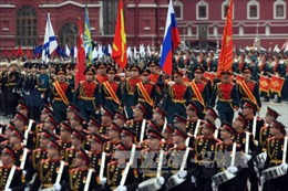 Hoạt động của 'Trung đoàn bất tử' khắp thế giới nhân Ngày Chiến thắng phát xít