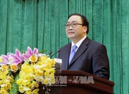 Bí thư Hà Nội Hoàng Trung Hải kiểm tra tiến độ dự án đường sắt đô thị
