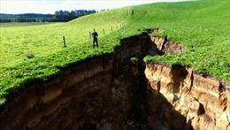 Núi lửa 60.000 năm tuổi bất ngờ 'lộ thiên'