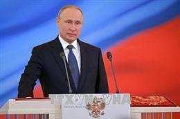 Tổng thống Nga khẳng định sẵn sàng đẩy mạnh quan hệ với Trung Quốc