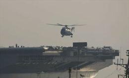 Trung Quốc 'một công đôi việc': Thử tàu sân bay và máy bay trực thăng Z-18