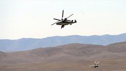 Trực thăng chiến đấu 'Cá sấu' K-52 của Nga rơi tại Syria