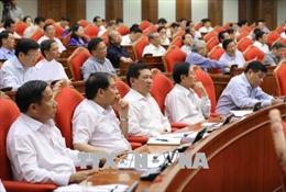 Ngày làm việc thứ hai của Hội nghị Trung ương 7 Khóa XII