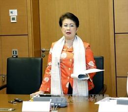 Đơn xin thôi đại biểu Quốc hội của bà Phan Thị Mỹ Thanh sẽ được xem xét đúng luật định