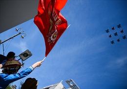 Cận cảnh màn diễu binh hùng dũng của Nga trên Quảng trường Đỏ