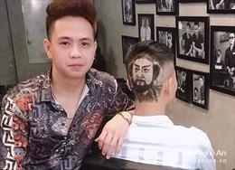 Chàng trai xứ Nghệ với tài khắc họa chân dung lên tóc
