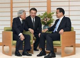 Thủ tướng Trung Quốc hội kiến Nhật hoàng