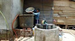 Mới đầu hè, Nghệ An nhiều nơi đã thiếu nước sạch