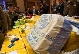 Thái Lan thu giữ lượng ma túy trị giá 45 triệu USD