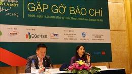 Lần thứ 2 tổ chức Lễ hội  giao lưu Việt Nam - Hàn Quốc 'Chúng ta là một'