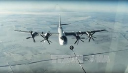 Mỹ chặn 2 máy bay ném bom của Nga ở không phận quốc tế phía Tây Alaska