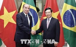 Bộ trưởng Ngoại giao Cộng hòa Liên bang Brasil thăm chính thức Việt Nam