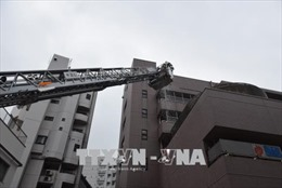 Nhật Bản chú trọng phòng cháy chữa cháy tại các chung cư cao tầng