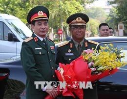 Tổng Tham mưu trưởng Quân đội nhân dân Lào thăm chính thức Việt Nam