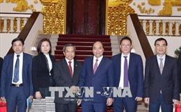 Thủ tướng Nguyễn Xuân Phúc tiếp Bộ trưởng Bộ Khoa học và Công nghệ Lào