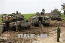 Quân đội Israel tiếp tục tấn công các mục tiêu Hamas ở Dải Gaza