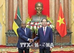 Chủ tịch nước tiếp các Đại sứ UAE, Mozambique, Hàn Quốc trình Quốc thư