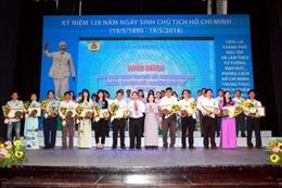 TP Hồ Chí Minh tuyên dương 297 điển hình công nhân lao động học tập và làm theo Bác