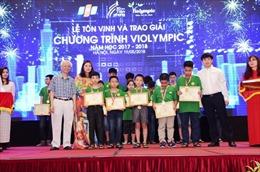Cuộc thi Violympic năm học 2017-2018 – gây dựng niềm đam mê học toán