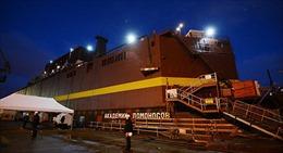 Nga ra mắt nhà máy điện hạt nhân nổi đầu tiên trên thế giới
