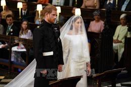 Bắt đầu cử hành hôn lễ Hoàng gia Anh tại lâu đài Windsor