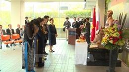 Long trọng Lễ kỷ niệm 128 năm Ngày sinh Chủ tịch Hồ Chí Minh tại nhiều quốc gia