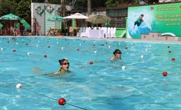 Phát động trẻ em toàn quốc học bơi an toàn, phòng chống đuối nước năm 2018