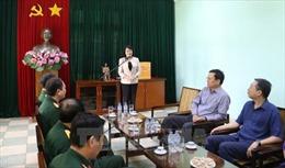 Phó Chủ tịch nước Đặng Thị Ngọc Thịnh làm việc với Bộ Tư lệnh Bảo vệ Lăng Chủ tịch Hồ Chí Minh