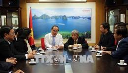 Đồng chí Nguyễn Thiện Nhân thăm Đại sứ quán Việt Nam tại Israel