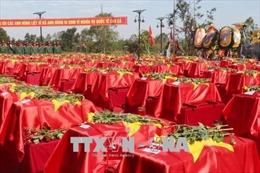 Gia Lai tổ chức lễ truy điệu, an táng hài cốt liệt sỹ hy sinh tại Campuchia