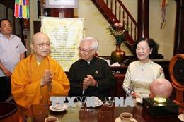 Đồng chí Trương Thị Mai thăm Hội đồng Trị sự Trung ương Giáo hội Phật giáo Việt Nam