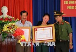 Truy tặng Huân chương Dũng cảm cho Thượng sỹ Công an hy sinh thân mình cứu người đuối nước