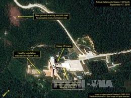 Lo ngại bãi thử hạt nhân Punggye-ri của Triều Tiên rò rỉ phóng xạ