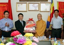 Giáo hội Phật giáo là 'cầu nối' vững chắc giữa Đảng, Nhà nước với tăng ni, Phật tử