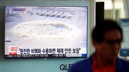 Phóng viên quốc tế kể về vụ phá hủy bãi thử hạt nhân Triều Tiên